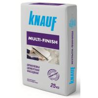 Шпаклевка цементная финишная Кнауф Мульти-Финиш фасадная (25 кг)