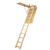 Деревянные чердачные лестницы FAKRO LWS Plus 70х130 305см