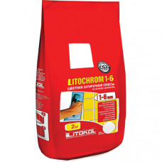 Затирка Litokol Litochrom 1-6, светло-серая С.20 (2 кг)