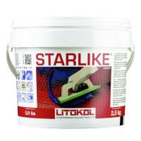 Затирка Litokol Litochrom Starlike, нейтральная С.340 (2.5 кг)