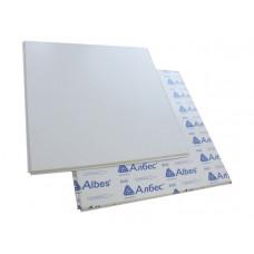 Панель металлическая АЛБЕС, 600х600 мм, белая матовая