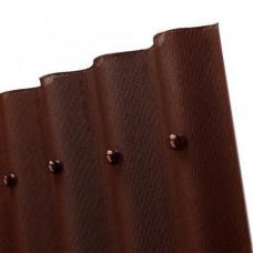 Ондулин кровельный лист Смарт, коричневый (1.85 кв.м)