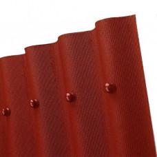 Ондулин кровельный лист Смарт, красный (1.85 кв.м)