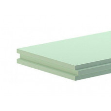 Пазогребневая гипсовая плита Влагостойкая АКСОЛИТ (667х500х80мм) полнотелая