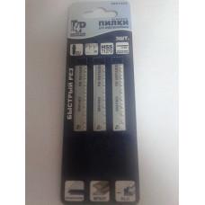 Пилки для электролобзика по металлу, T127D, 75 х 3 мм T4P