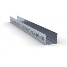 Профиль для гипсокартона направляющий ПН 50х40 Knauf Кнауф 0,6мм