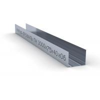 Профиль направляющий ПН 75х40 Кнауф Knauf 0,6мм