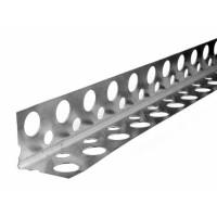 Уголок перфорированный алюминиевый 21х21 (3м)
