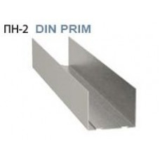 Профиль направляющий ПН 75х40 Албес Din Prim 0,55 мм (3м)