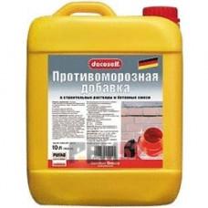 Противоморозная добавка в бетон до -10 С Пуфас (PUFAS), 10 л