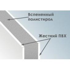Сэндвич-панели ПВХ толщиной 24 мм, 3х1,5 м 0,5мм