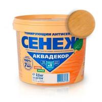 СЕНЕЖ Аквадекор Х2, 112 Дуб (2,5 кг)