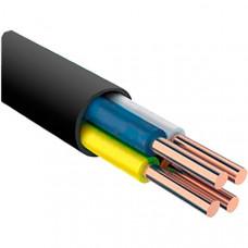 ВВГнг(А)-LS 4х2,5 плоский медный негорючий кабель ГОСТ (1м)