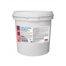 Декоративная фасадная акриловая штукатурка ШУБА Litotherm Factura Acryl 25кг