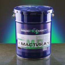Мастика битумно-полимерная Евротехмаст 20,5 л (20 кг)