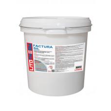 Декоративная фасадная силиконовая штукатурка ШУБА Litotherm Factura Sil 25кг