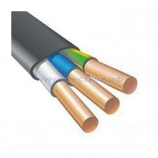 ВВГнг(А)-LS 3х4 плоский медный негорючий кабель ГОСТ (1м)