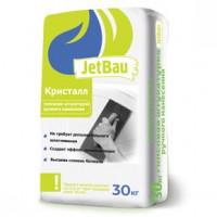 JetBau Гипсовая штукатурка ручного нанесения КРИСТАЛЛ Белая 30кг