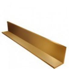 Уголок направляющий Металлик золото