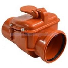 Клапан обратный канализационный наружный d110мм