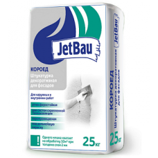 Декоративная штукатурка JetBau «КОРОЕД 2мм Белый» 25кг