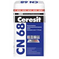 Смесь для пола CN68 Ceresit (25кг) 1-15 мм
