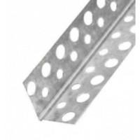 Уголок перфорированный оцинкованный 21х21 мм (3м)