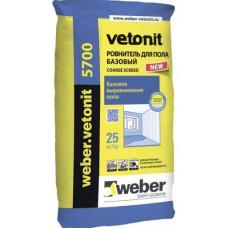 Ровнитель для пола базовый Ветонит 5700 (Vetonit) (5-70 мм) (25 кг)